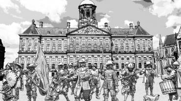 NachtWacht en StadhuisPsAmsterdam